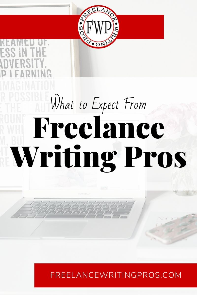 What to Expect From Freelance Writing Pros