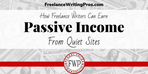Earn Passive Income from Quiet Sites