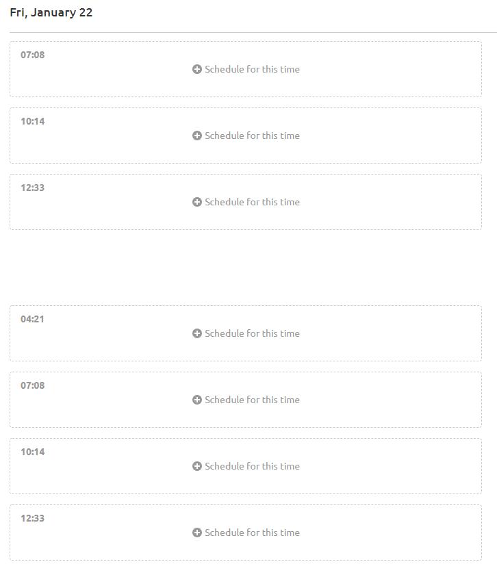 SEMRush Social Media Scheduler